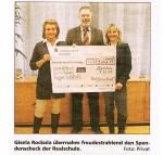 Spende der Werner-von-Siemens-Realschule